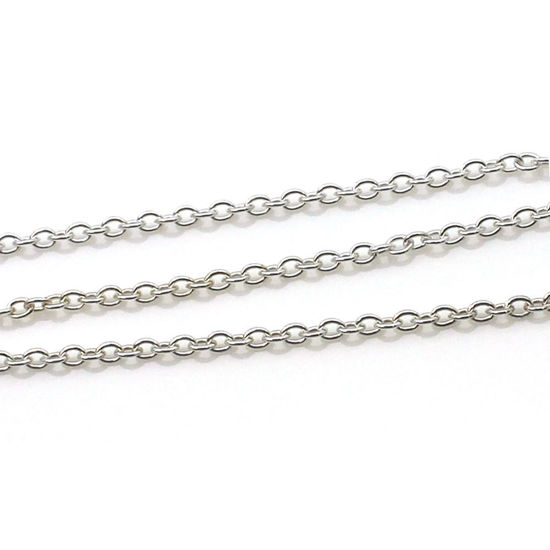 Strong Cable chain, sterling silver chains wholesale