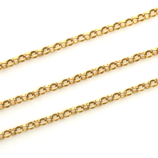 Wholesale 1/20 14K Gold Filled Chain - 1.3mm Rolo Chain (sold per foot)