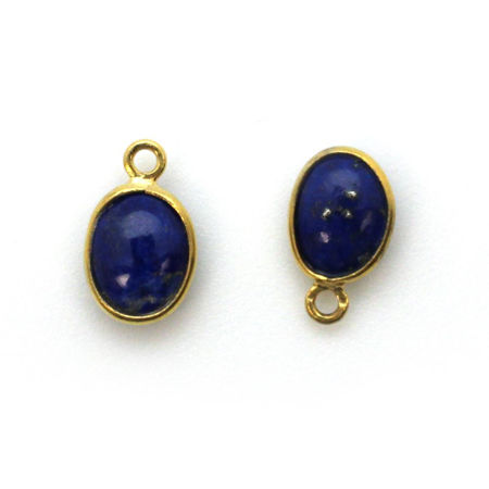 Picture for category Gold Tiny Oval Natural Gemstone Pendants