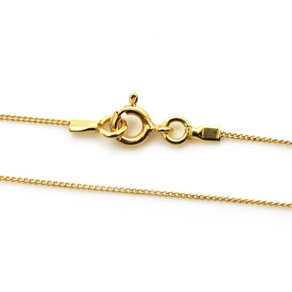 Wholesale Gold plated Sterling Silver Tiny Curb Chain, Wholesale Necklace Chains