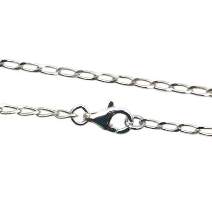 Wholesale Sterling Silver Diamond Cut Curb Necklace Chain, Wholesale Bulk Necklace Chains