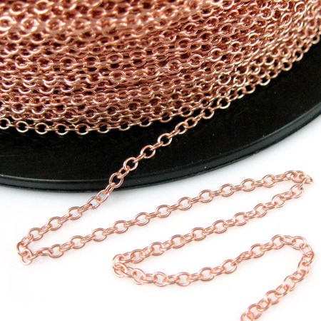 Picture for category Rose Gold Bulk Chain