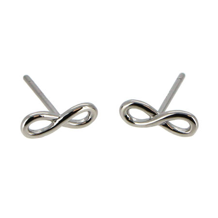 Picture for category Rhodium Sterling Silver Earring Findings