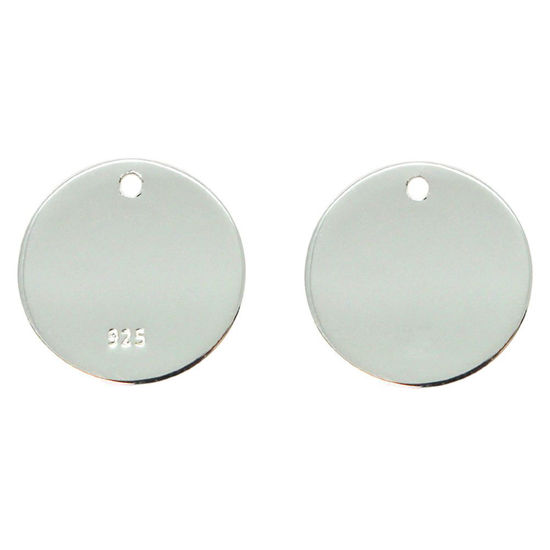 Wholesale Sterling Silver Round Stamping Blank - 18mm