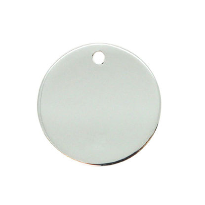 Wholesale Sterling Silver Round Stamping Blank - 25mm