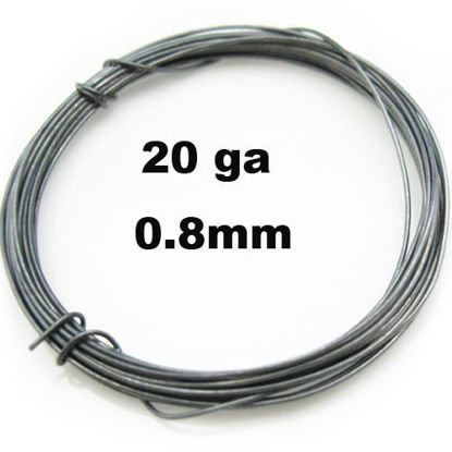 Wholesale Oxidize Sterling Silver 20 Gauge Wire for Jewelry Making, Wholesale Wire and Findings