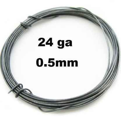 Wholesale Oxidize Sterling Silver 24 Gauge Wire for Jewelry Making, Wholesale Wire and Findings