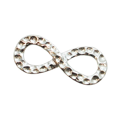 Wholesale 925 Sterling Silver Infinity Charm Pendant - 16mm