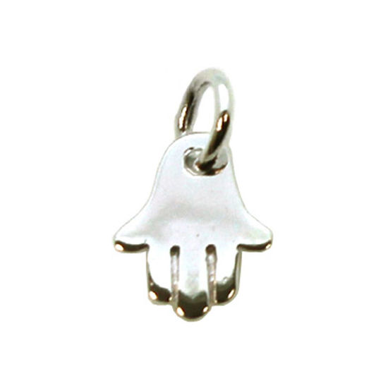 Wholesale Sterling Silver Hasma Hand Charm, Charms and Pendants for Jewelry Making, Wholesale Findings