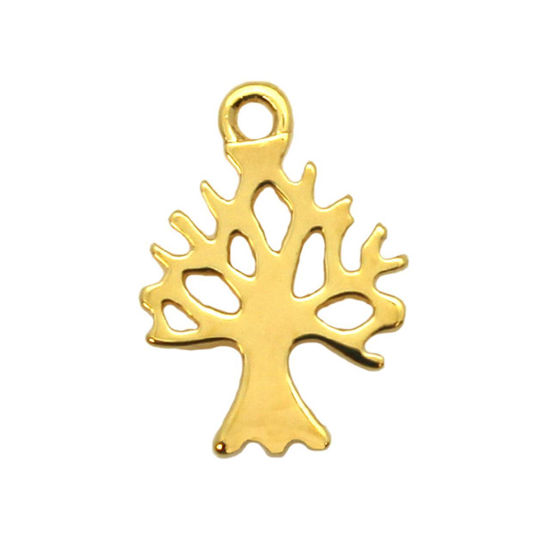 Wholesale Sterling Silver Tree of Life Cut Out Charm, Charms and Pendants for Jewelry Making, Wholesale Findings