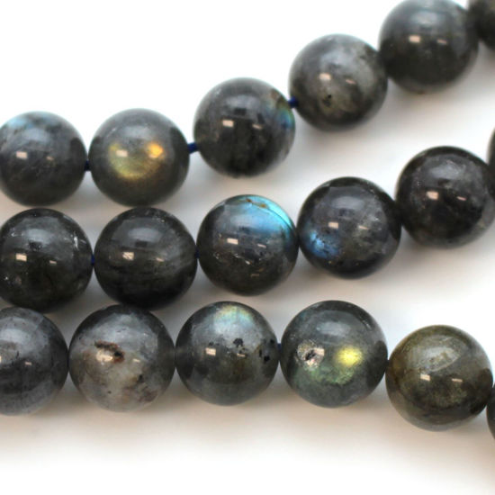 Wholesale Labradorite Beads - 10mm Round Smooth Shape (sold per strand)