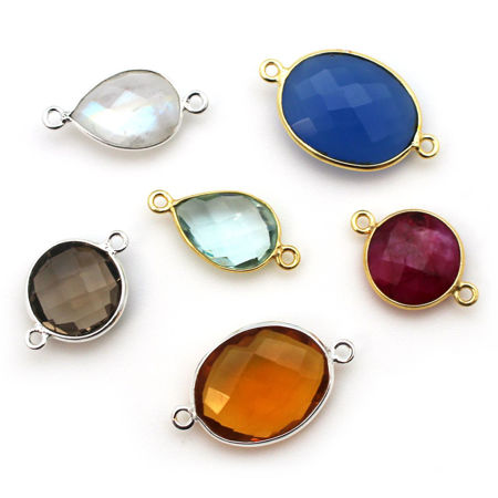 Picture for category Bezel Gemstone Connectors