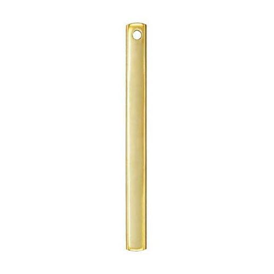 14K Gold Filled Bar Pendant