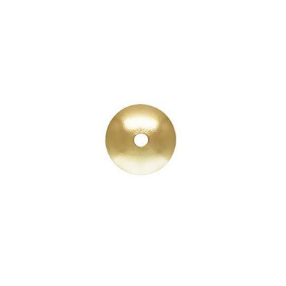 Wholesale gold filled 4mm bead cap