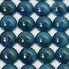 Wholesale Cabochon Blue Apatite Round, 8mm, Grade A+