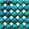 Wholesale Cabochon Chrysocolla Round, 10mm, Grade AA