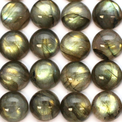 Wholesale Cabochon Labradorite Round, 10mm, Grade AAA