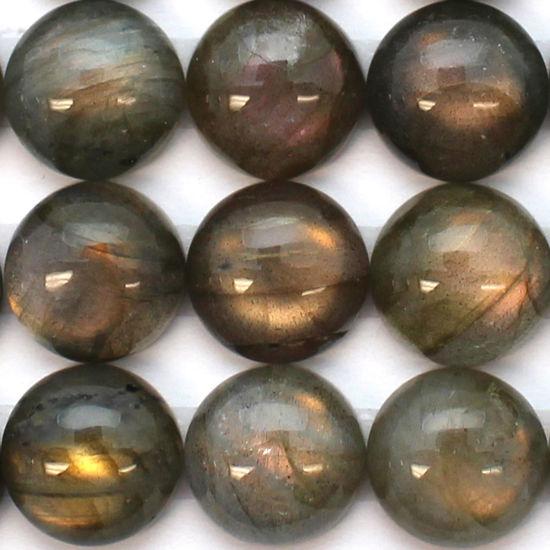 Wholesale Cabochon Labradorite Round, 12mm, Grade A+