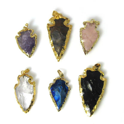 Wholesale Gold Plated Arrowhead Pendant