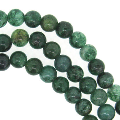 Wholesale Green Quartz - 6mm Smooth Round Beads (Sold Per Strand)
