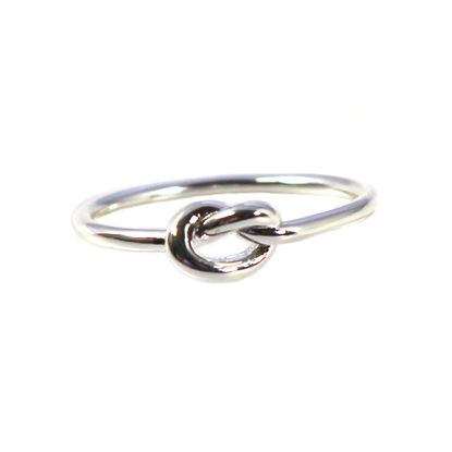 Wholesale Sterling Silver Knot Ring (1 piece)