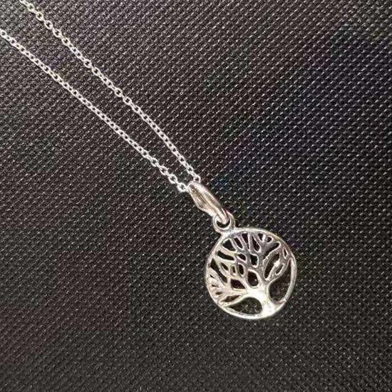 Wholesale Sterling Silver Tree of Life Charm Necklace