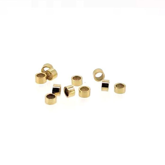 wholesale gold filled crimp bead tube and end findings