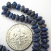 Wholesale Gemstone Beads -- Lapis Lazuli Plain Button Beads ( 4-5 mm) 14 inches