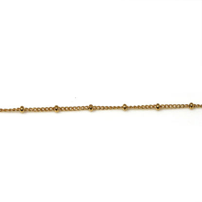Wholesale Gold Filled Satellite Bead Chain By the Foot