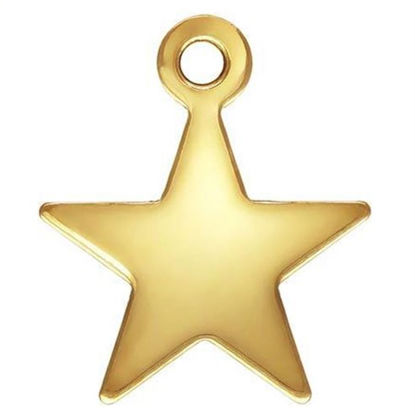 Wholesale 1/20 14k Gold Filled Charm-8mm Star Charm (5pcs)