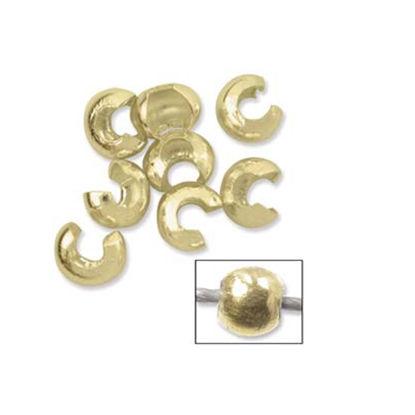 Wholesale 1/20 14K Gold filled Crimp Bead Ball Cover - 3mm (sold per 20 pcs)