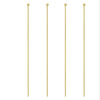 Wholesale 14k Yellow Gold Ball End Headpins-29ga -1.75 inches with 0.85mm ball ( Sold per piece)