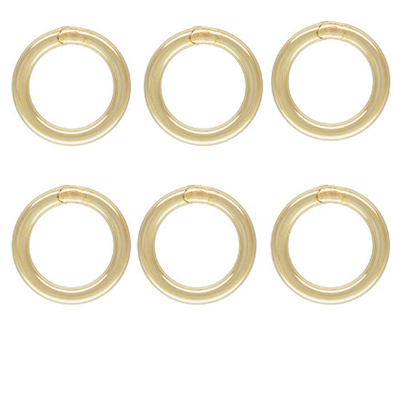 Wholesale 1/20  14K Gold Filled Closed Jump Rings - 20.5ga, 4mm,5mm or 6mm (20pcs)