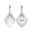 Wholesale Sterling Silver Heart Quality Tag - 3.5mm (sold per 10 pcs)