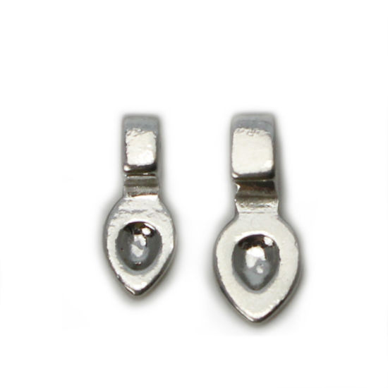 Wholesale 925 Sterling Silver Glue On Bail - 12mm  or 15mm