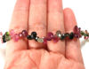 Wholesale Semiprecious Gemstone Beads -100% Genuine Tourmaline Gemstone Bead - Faceted Pear Shape - (Sold Per Strand)
