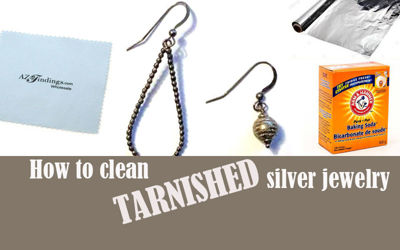 How to Clean Tarnished Silver Jewelry