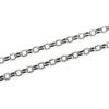 Wholesale Rhodium Plated Over Sterling Silver Bulk Chain - 2mm Rolo Chain (sold per foot)