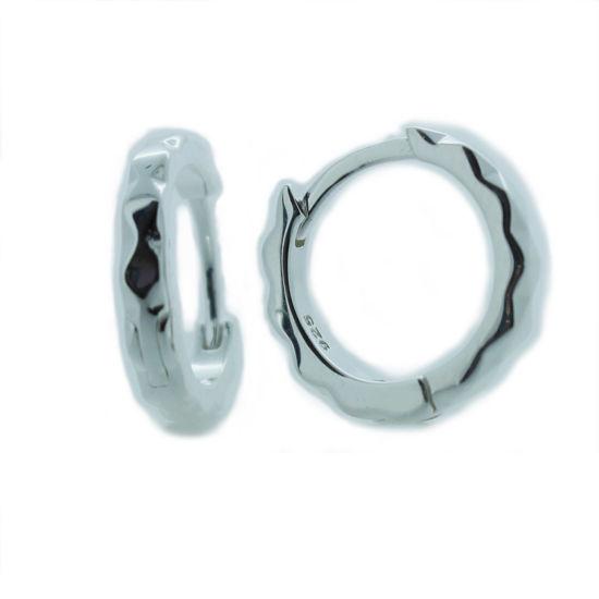 Wholesale Sterling Silver Huggies Hoop Earrings -13mm (Sold Per Pair)