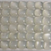 Wholesale Cabochon White Moonstone Square 8mm, Grade A-