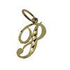 Wholesale 14K yellow gold initial pendant
