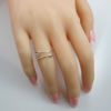 Wholesale 925 Sterling Silver Ring - Arrow Ring Adjustable Size(1 piece)