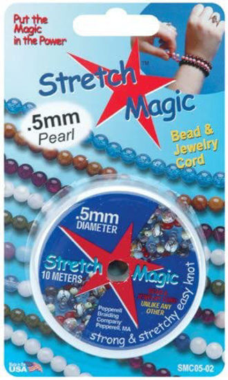 Wholesale Stretch Magic - Bead & Jewelry Cord - Pearl 0.5mm 10 Meters