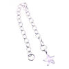 """Wholesale 925 Sterling Silver Chain Extender-4"""" with Star Charm"""